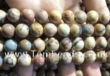 CVJ06 15.5 inches 14mm round venus jasper beads wholesale