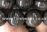CWJ554 15.5 inches 12mm round coffee wood jasper beads wholesale