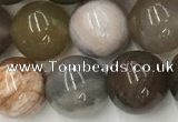 CWJ578 15.5 inches 12mm round wood jasper beads wholesale