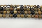 CWJ583 15.5 inches 11mm round wooden jasper beads wholesale
