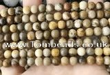 CWJ591 15.5 inches 6mm round wood jasper beads wholesale