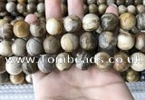 CWJ596 15.5 inches 16mm round wood jasper beads wholesale