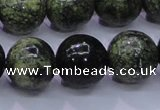 CXJ255 15.5 inches 14mm round Russian New jade beads wholesale