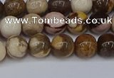 CZJ271 15.5 inches 6mm round zebra jasper beads wholesale