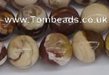 CZJ273 15.5 inches 10mm round zebra jasper beads wholesale