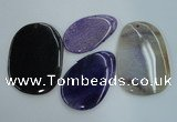 NGP1237 35*50mm - 50*70mm freeform agate gemstone pendants wholesale