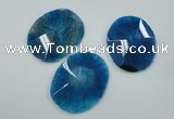 NGP1248 40*50mm - 45*55mm freeform agate gemstone pendants wholesale