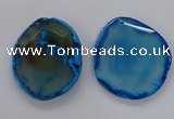 NGP3242 55*65mm - 50*75mm freeform agate slab pendants